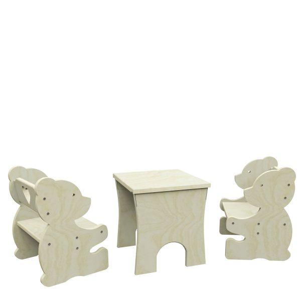 Stoliczek z krzesełkami